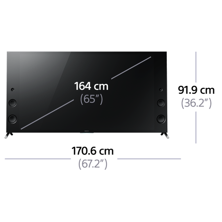 """65"""" X9300C 4K TV Ultra HD with android TV, , hi-res"""