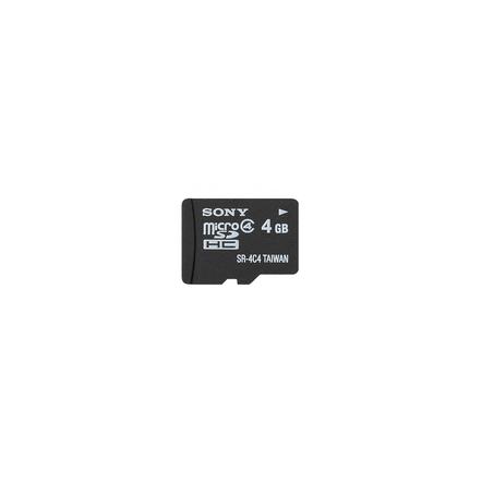 4GB MicroSDHC Memory Card, , hi-res