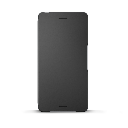Style Cover Flip SCR52 for Xperia X (Graphite Black), , hi-res