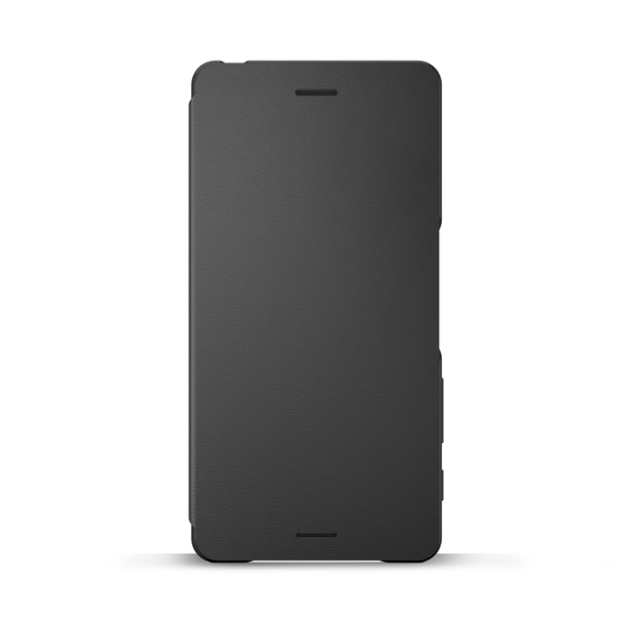 Style Cover Flip SCR52 for Xperia X (Graphite Black), , product-image