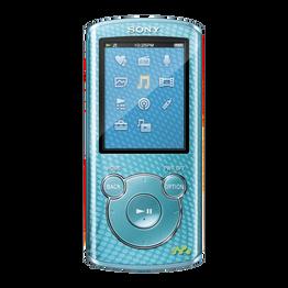 4GB E Series Video MP3/MP4 Walkman (Blue)