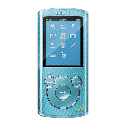 4GB E Series Video MP3/MP4 Walkman (Blue)