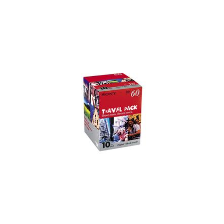 10-Pack 60 min Mini DV Tape