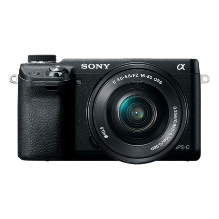 NEX-6 16.1 Mega Pixel Camera with SELP1650 Lens, , hi-res