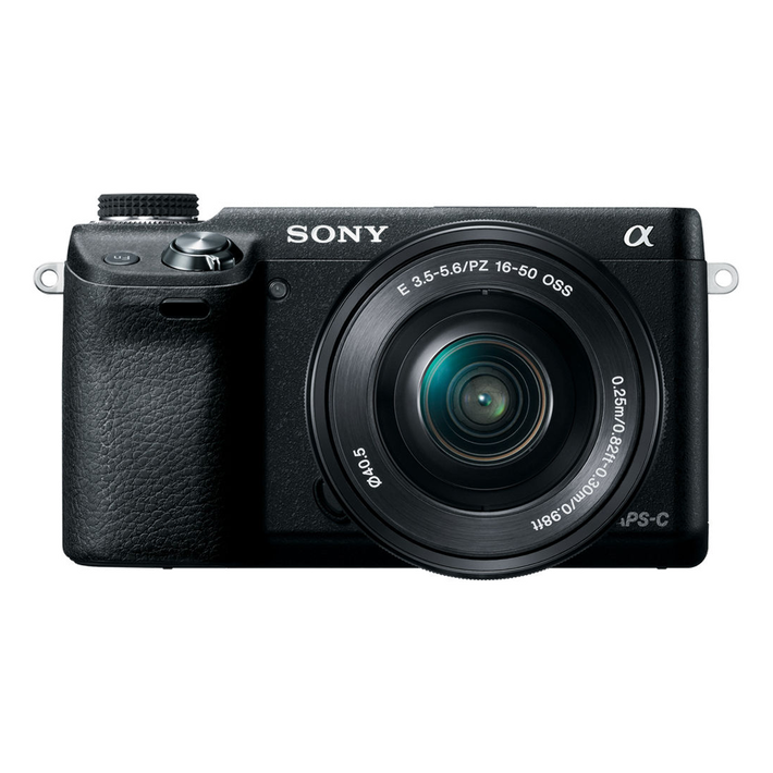 NEX-6 16.1 Mega Pixel Camera with SELP1650 Lens, , product-image
