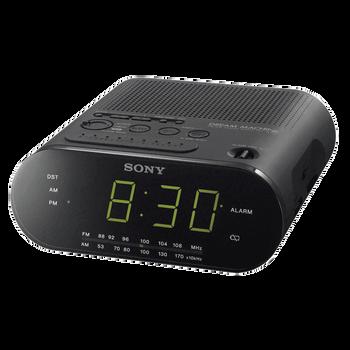 Clock Radio (Black), , hi-res