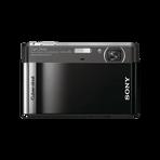 12.1 Megapixel T Series 4X Optical Zoom Cyber-shot Compact Camera (Black), , hi-res