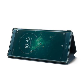 Style Cover Stand SCSH40 for Xperia XZ2 (Green), , hi-res