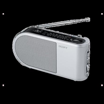 PORTABLE RADIO - SILVER, , hi-res