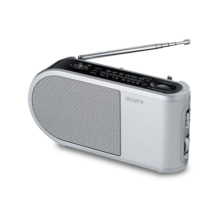 PORTABLE RADIO - SILVER, , product-image