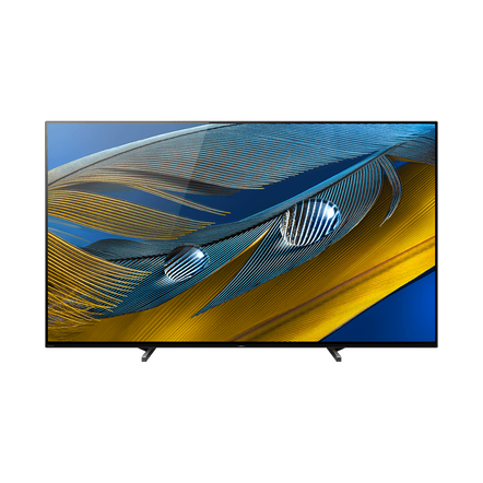 "55"" A80J | BRAVIA XR | OLED | 4K Ultra HD | High Dynamic Range (HDR) | Smart TV (Google TV), , hi-res"