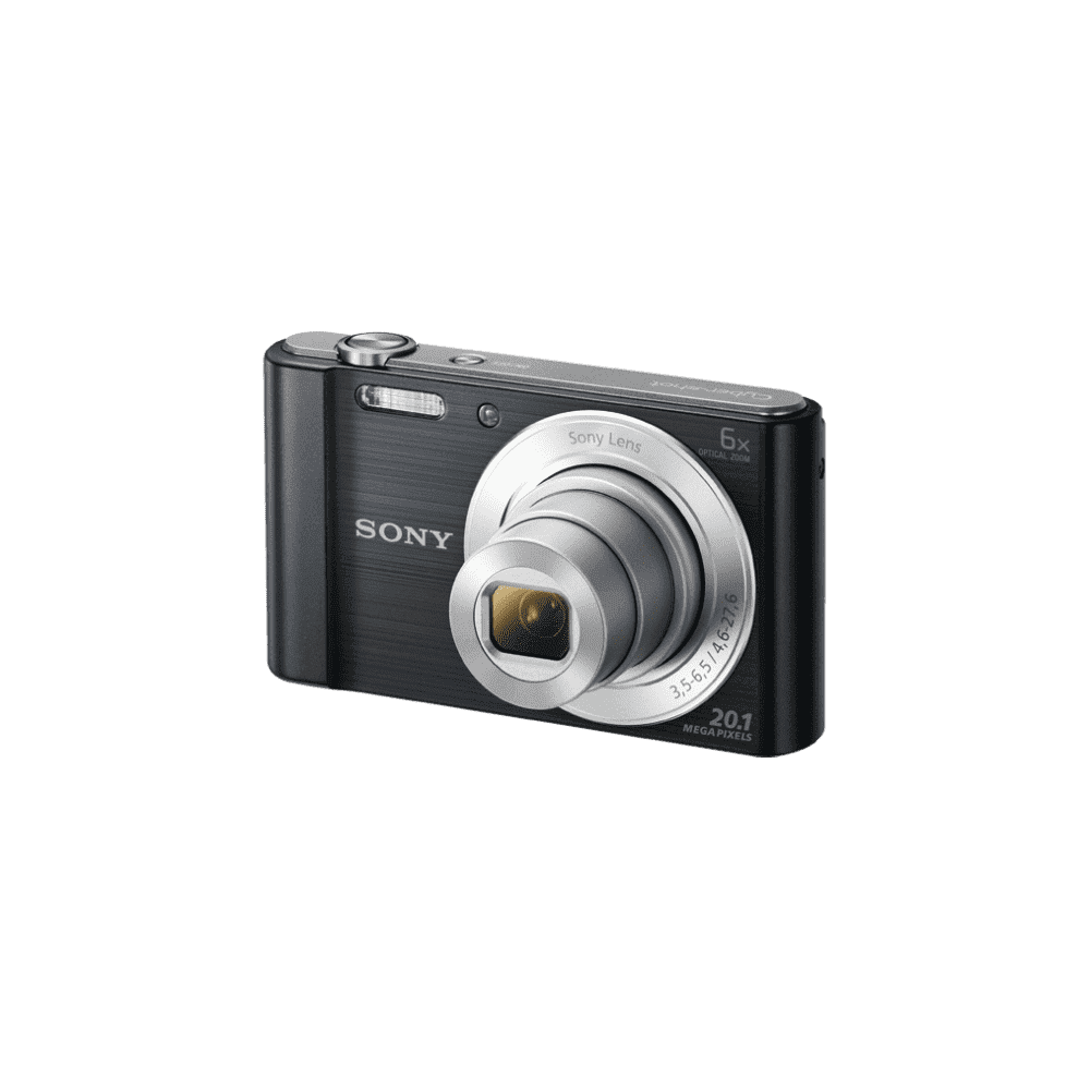 W810 Digital Compact Camera with 6x Optical Zoom (Black), , product-image