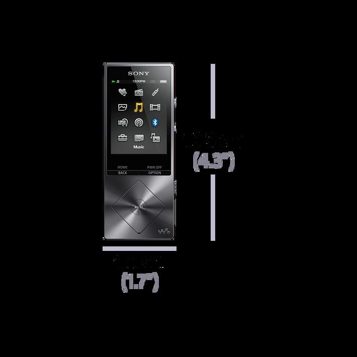A Series High-Resolution Audio 16GB Walkman (Black), , product-image