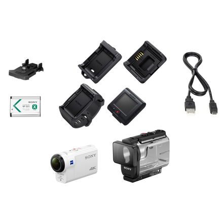 FDRX3000 4K Action Cam and Live-view Remote Kit