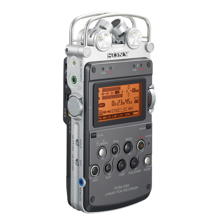Linear PCM Recorder PCM-D50