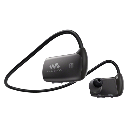 WS Series Waterproof MP3 4GB Walkman with Bluetooth (Black)