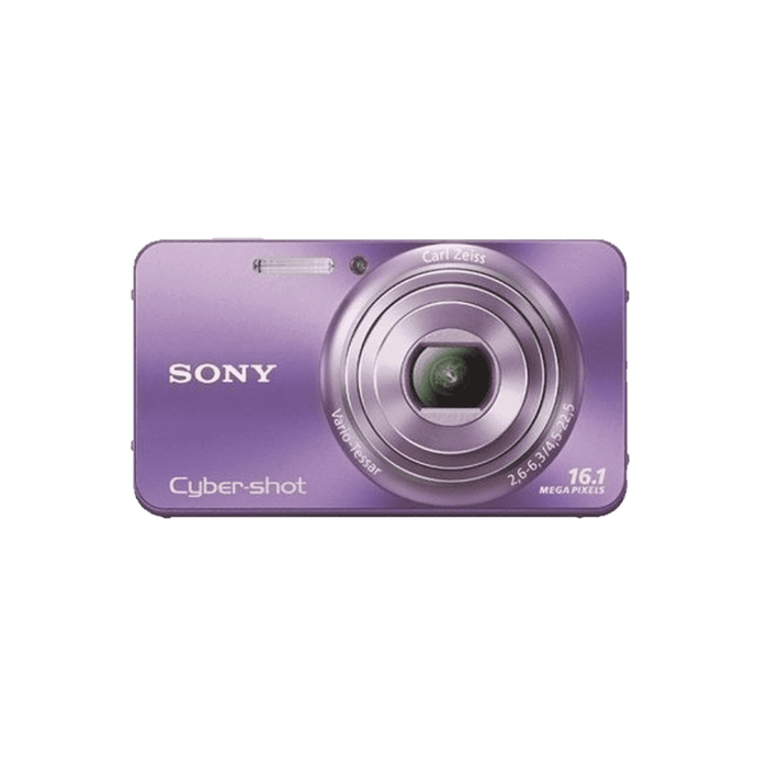 16.1 Megapixel W Series 5X Optical Zoom Cyber-shot Compact Camera (Violet), , product-image