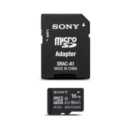 16GB Micro SD Memory Card and Adapter