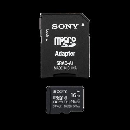 16GB Micro SD Memory Card and Adapter, , hi-res