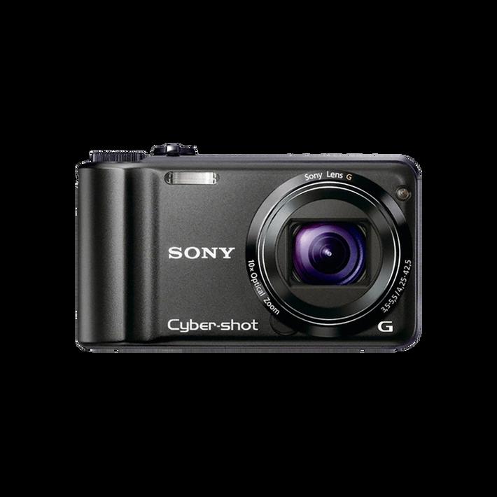 14.1 Mega Pixel H Series 10x Optical Zoom Cyber-shot (Black), , product-image