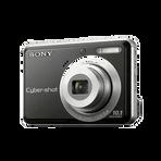 10.1 Megapixel S Series 3X Optical Zoom Cyber-shot Compact Camera (Black), , hi-res