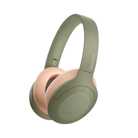 WH-H910N h.ear on 3 Wireless Noise Cancelling Headphones (Green), , hi-res