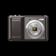 12.1 Megapixel S Series 3X Optical Zoom Cyber-shot Compact Camera (Black)