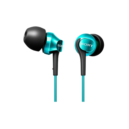 EX100 In-Ear Monitor Headphones (Turquoise), , hi-res