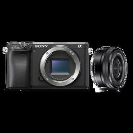 a6400 Premium Digital E-mount APS-C Camera Kit with 16-50mm Lens (Black)