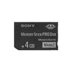 4GB Memory Stick Pro Duo Mark2