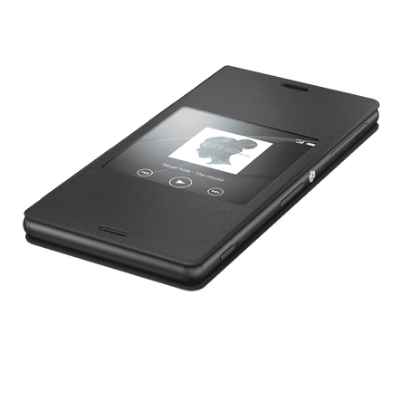 Smart Cover with Window Z3 SCR24 1287 5637, , hi-res