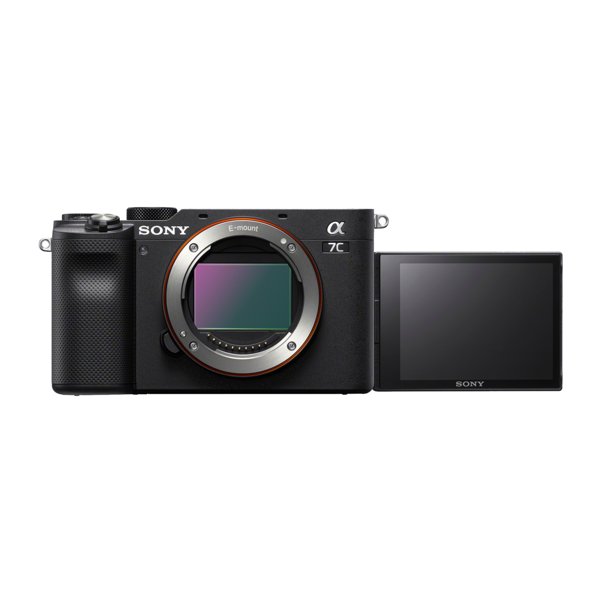 Alpha 7C - Compact Digital E-Mount Camera with 35mm Full Frame Image Sensor (Black - Body only), , product-image