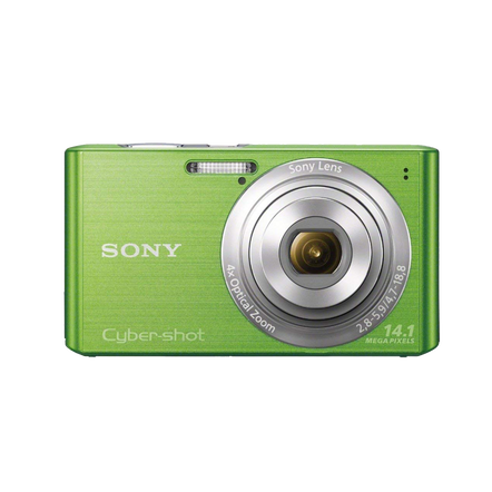 14.1 Megapixel W Series 4X Optical Zoom Cyber-shot Compact Camera (Green)