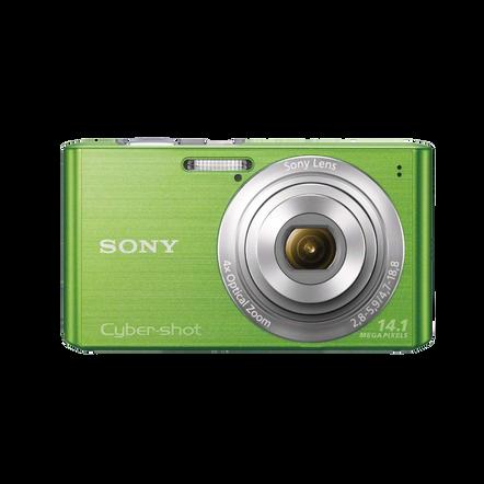 14.1 Megapixel W Series 4X Optical Zoom Cyber-shot Compact Camera (Green), , hi-res