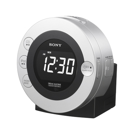 iPod Dock CD Clock Radio