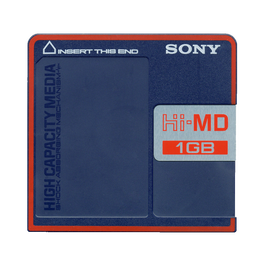 1GB Hi-MD Disc, , hi-res