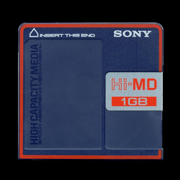 1GB Hi-MD Disc, , product-image