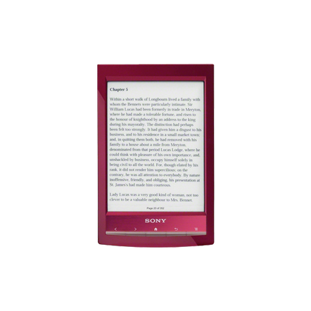 Reader Wi-Fi Touch with 6.0 Paper-Like Touch Screen and Expandable Memory (Red)