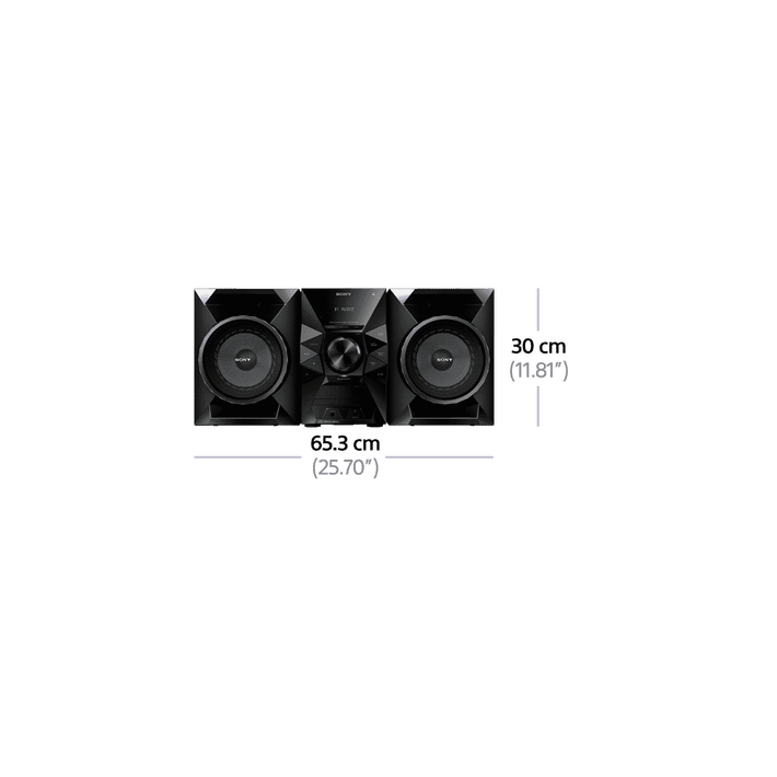 Mini Hi-Fi System with Bluetooth, , product-image