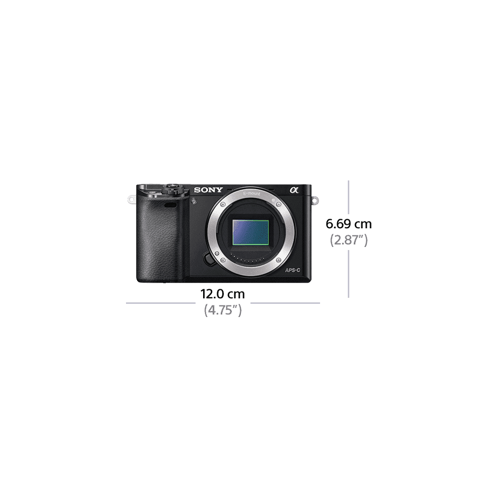 Alpha 6000 Digital E-Mount 24.3 Mega Pixel Camera, , product-image