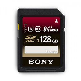 128GB SDXC Memory Card UHS-1 Class 10