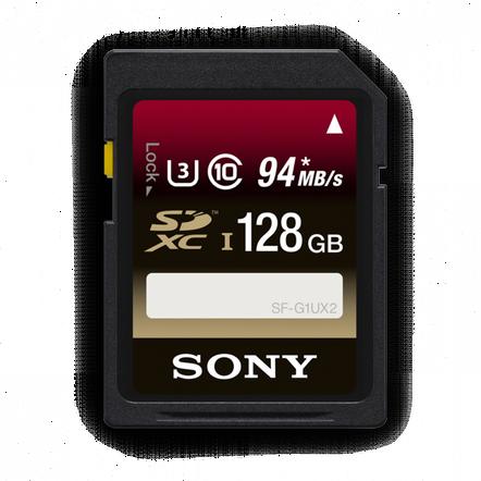 128GB SDXC Memory Card UHS-1 Class 10, , hi-res