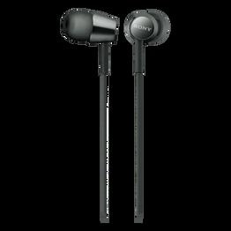 EX155 In-Ear Headphones (Black), , hi-res