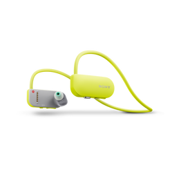 Wearable Music Player with Fitness Tracker (Yellow)