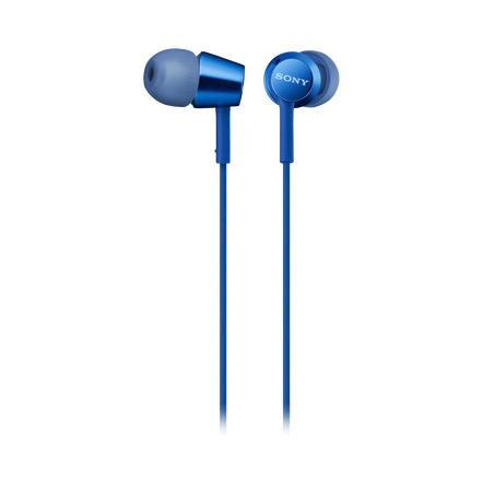 EX155AP In-Ear Headphones (Blue), , hi-res