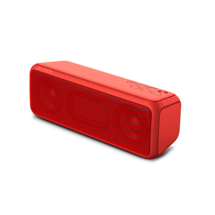 EXTRA BASS Portable Wireless Speaker with Bluetooth (Red), , hi-res