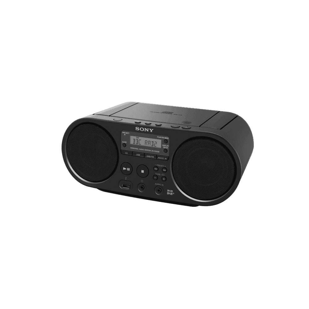 CD Boombox with DAB+/FM Digital Radio Tuner and USB Playback, , product-image