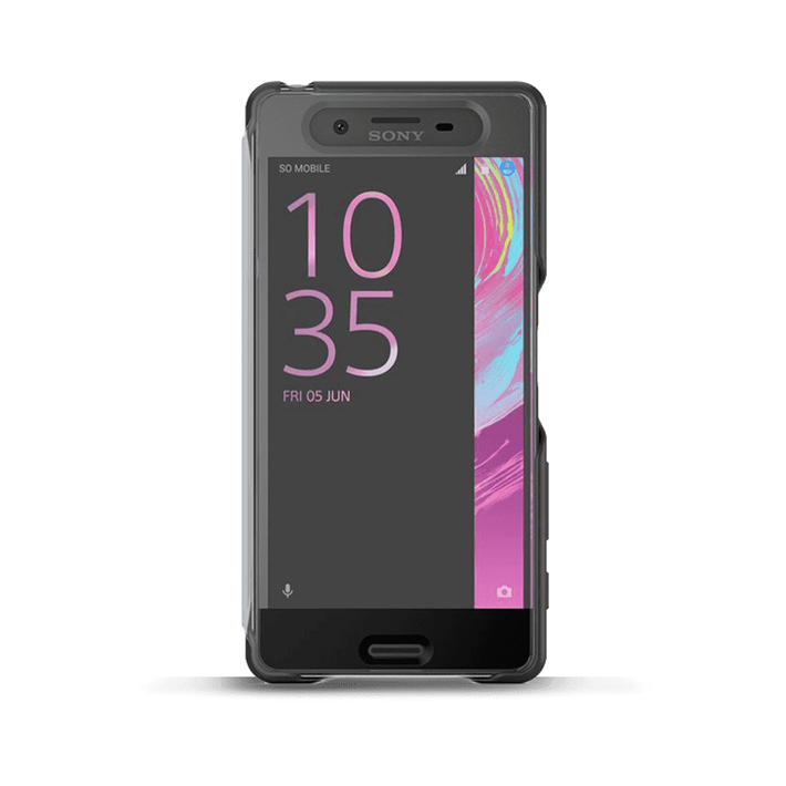 Style Cover Touch SCR50 for Xperia X (Graphite Black), , product-image