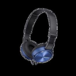 ZX310 Folding Headphones (Blue), , hi-res