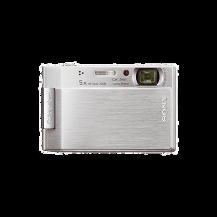 8.1 Mega Pixel T Series 5x Optical Zoom Cyber-shot (Silver), , hi-res